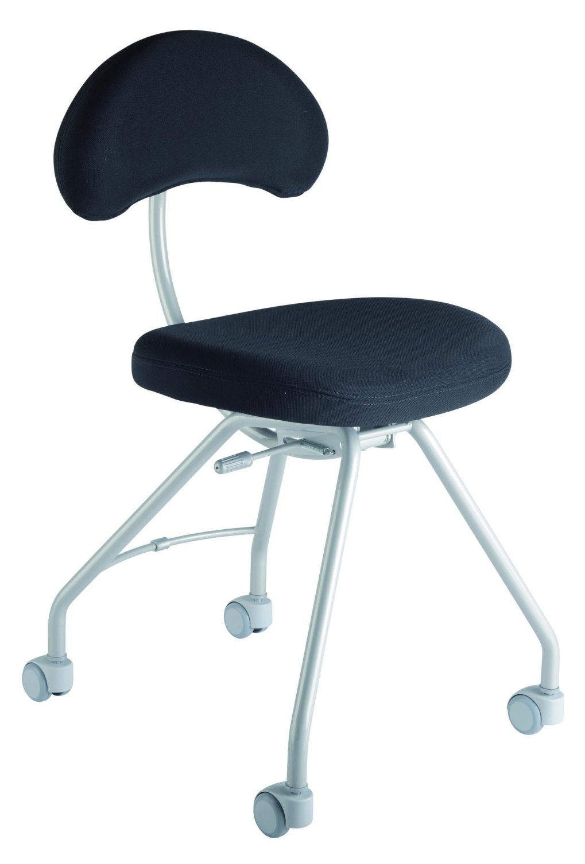 si ge atelier ingi si ge sur roulettes assis genoux. Black Bedroom Furniture Sets. Home Design Ideas